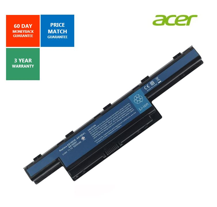 Laptop Battery For Acer Aspire 4551 4741 4741G 5741 7551 7560 5750 11.1V 5200mAh