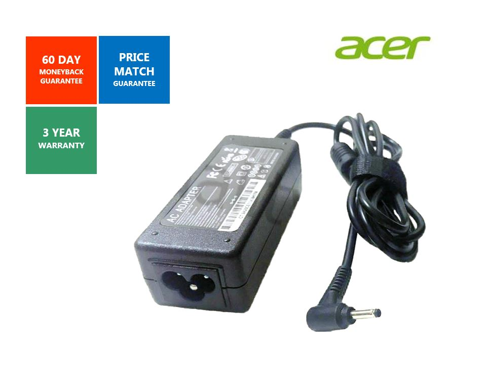 Acer Chromebook C720 PA-1450-26 A13-045N Adapter Charger 19V 2.37A 45W 3.0*1.1