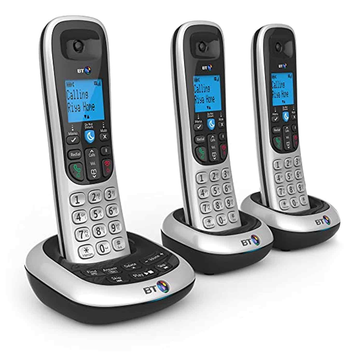 BT3 digital cordless telephone with answering machine