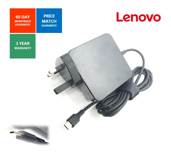 Charger Power Supply For Lenovo Apple ASUS Laptop 65W Type C USB-C